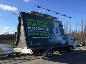 Solid PVC used by Ashburton Council